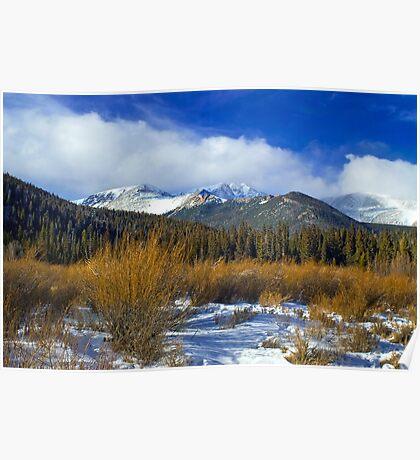 A Colorado Winter  Poster
