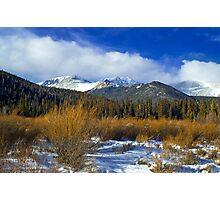 A Colorado Winter  Photographic Print