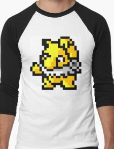 Pokemon 8-Bit Pixel Hypno 097 Men's Baseball ¾ T-Shirt