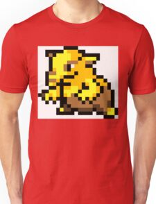 Pokemon 8-Bit Pixel Drowzee 096 Unisex T-Shirt