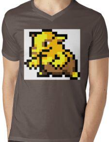 Pokemon 8-Bit Pixel Drowzee 096 Mens V-Neck T-Shirt