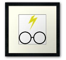 Potter Goggles Framed Print
