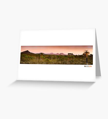 Stirling Ranges Sunrise Greeting Card