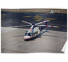 Agusta Westland AW139 Helicopter Poster