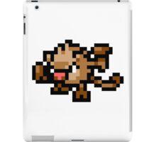 Pokemon 8-Bit Pixel Mankey 056 iPad Case/Skin