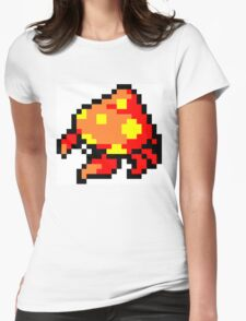 Pokemon 8-Bit Pixel Parasect 047 Womens Fitted T-Shirt