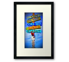 Fishbone Framed Print