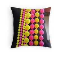 Pink & Yellow DOF Throw Pillow