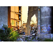 Cement works 2 - Geelong Photographic Print