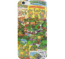 Vintage Comic Teenage Mutant Hero Turtles iPhone Case/Skin