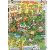 Vintage Comic Teenage Mutant Hero Turtles iPad Case/Skin