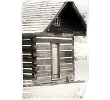 Vance birthplace, Weaverville NC Poster