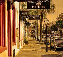 Charleston Streets by Wendy Mogul