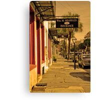 Charleston Streets Canvas Print