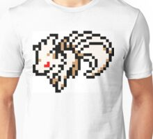 Pokemon 8-Bit Pixel Ninetails 038 Unisex T-Shirt