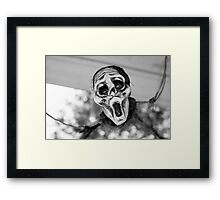 Scary Hallow Framed Print