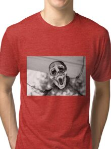 Scary Hallow Tri-blend T-Shirt
