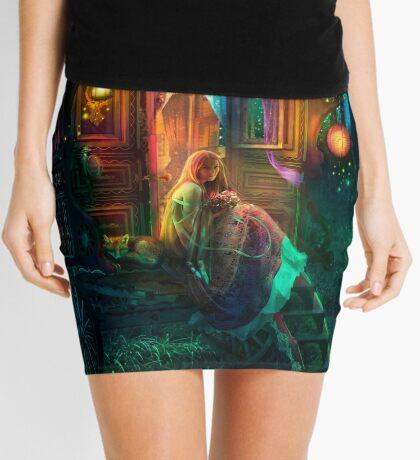 Gypsy Firefly Mini Skirt