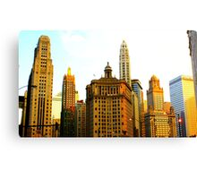 Chicago Glow Canvas Print