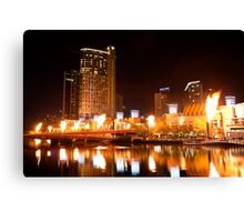 All fired up Canvas Print