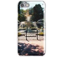 Forsyth Park Fountain - Savannah - Ga iPhone Case/Skin