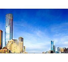 Melbourne Skyline by Kirk  Hille