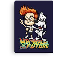 WAYBAC to the Future Canvas Print