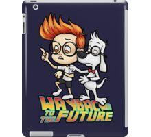 WAYBAC to the Future iPad Case/Skin