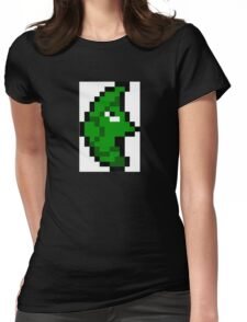 Pokemon 8-Bit Pixel Metapod 011 Womens Fitted T-Shirt