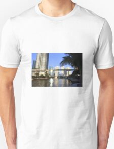 Sunset on the Miami River Unisex T-Shirt