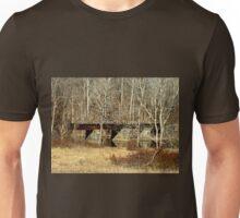Old Railroad Bridge - Green Lane Reservoir PA Unisex T-Shirt
