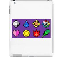 Kanto League Pokemon Master Badges  iPad Case/Skin