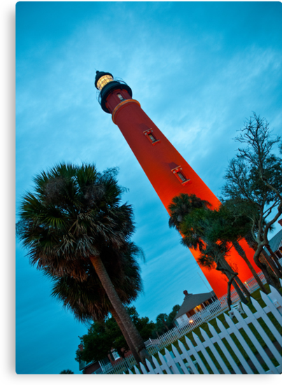 Ponce de Leon Inlet Light - Ponce Inlet, Florida by Howard Simpson