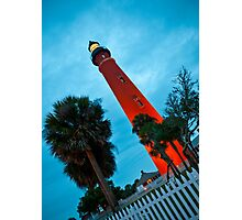 Ponce de Leon Inlet Light - Ponce Inlet, Florida Photographic Print