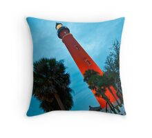 Ponce de Leon Inlet Light - Ponce Inlet, Florida Throw Pillow