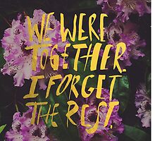 Whitman: We Were Together by Leah Flores