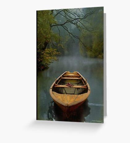 The Old Lake Greeting Card