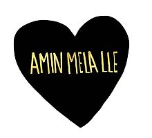"Amin Mela Lle: ""I Love You"" in Elvish by Leah Flores"