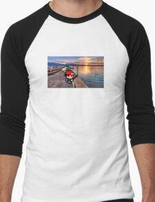 Gone Fishing with Ash Ketchum Men's Baseball ¾ T-Shirt