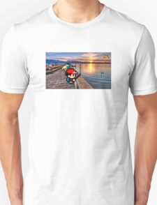 Gone Fishing with Ash Ketchum Unisex T-Shirt