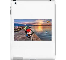 Gone Fishing with Ash Ketchum iPad Case/Skin
