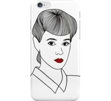 Rachael. Blade Runner iPhone Case/Skin