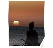 Watching the Sun Go Down Poster