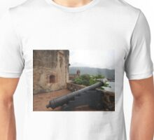 Cannon from Fort San Felipe in Puerto Plata, DR T-Shirt