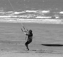 Kite Surfing Warmup - Yeppoon Queensland Australia by PhoenixArt