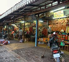 Siem Reap Old Market by Trishy