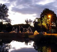 Fountain in the Park (Tamworth NSW) by Craig Stronner