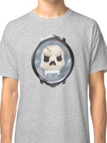 Skull in the mirror Classic T-Shirt
