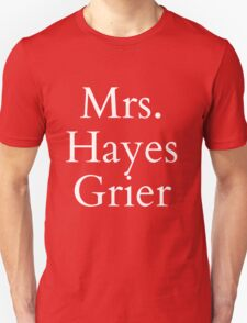 Mrs. hayes Grier White Ink T-Shirt