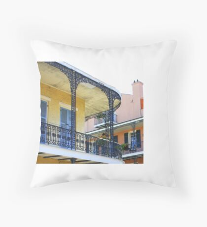 Colonial Charm Throw Pillow